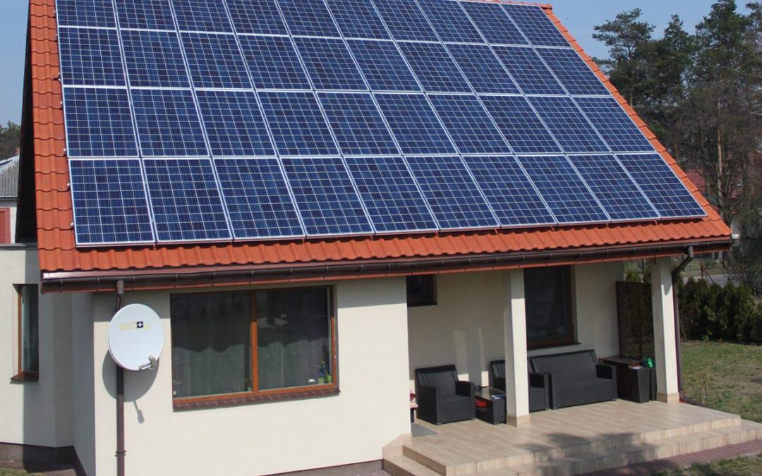 Mały dom, duże zużycie, duża oszczędność – Dobrzenica 10 kWp