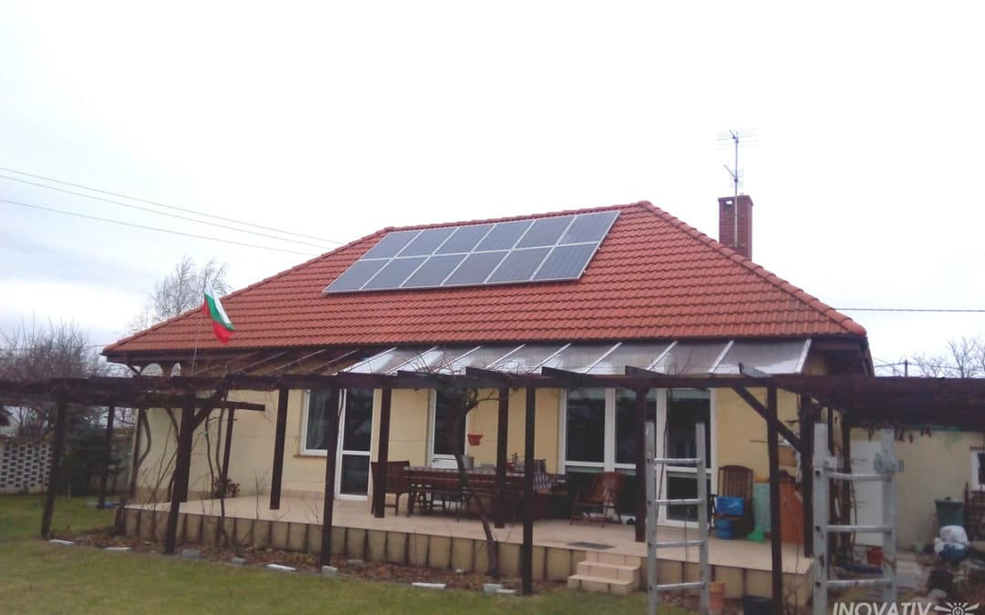 Instalacja hybrydowa jako zabezpieczenie i źródło oszczędności – Topolin 3 kWp