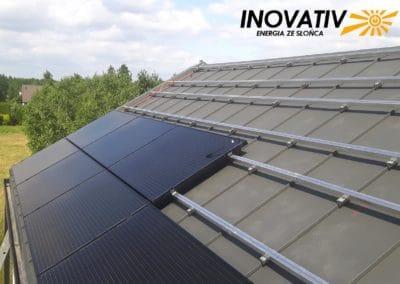 Inovativ instalacja fotowoltaiczna 7kWp Uwieliny Bruk-Bet Solar Fronius