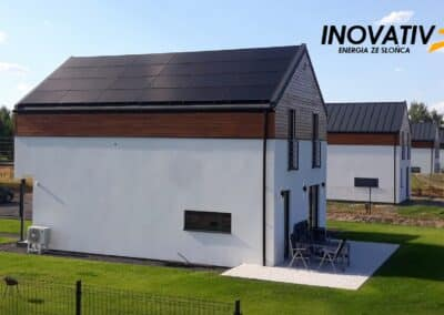 Panele jako pokrycie dachu – Krupia Wólka 7 kWp