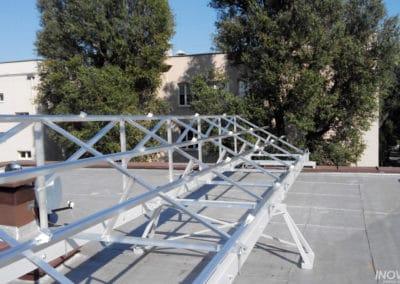 Solidna konstrukcja pod montaż paneli