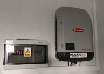 instalacja fotowoltaiczna 10kWp Grodzisk Mazowiecki Inovativ panele Longi Solar Fronius Smart Meter