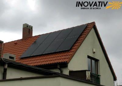 instalacja fotowoltaiczna 5kWp Piaseczno Inovativ panele Bruk-Bet Solar Fronius