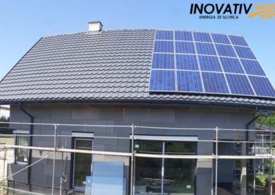 instalacja fotowoltaiczna 5kWp Piaseczno Inovativ w trakcie budowy