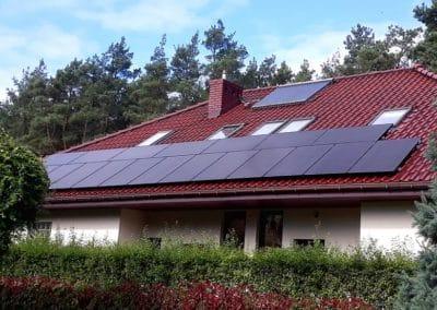 instalacja fotowoltaiczna 6kWp Bobrowiec Inovativ panele BenQ AUO Solar Fronius