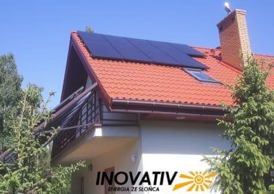 instalacja fotowoltaiczna 6kWp Trzciany Inovativ polskie panele Bruk-Bet Solar Fronius
