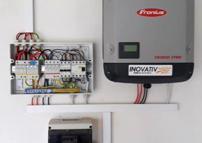 instalacja fotowoltaiczna 7kWp Sochaczew Inovativ panele BenQ AUO Solar 330Wp Fronius