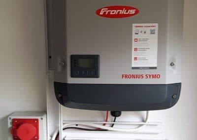 instalacja fotowoltaiczna Inovativ Fronius 3.7-3-M Sharp Nowa Iwiczna 4kWp
