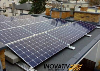 instalacja fotowoltaiczna Solar Edge Warszawa 5kWp Inovativ LG NEON R 365Wp
